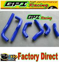 GPI 02 03 04 Honda CRF450R CRF450 CRF 450R silicone radiator hose 2002 2003 2004