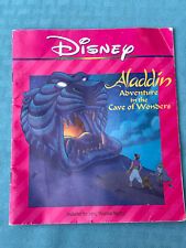 Disney Aladdin Adventure In The Cave Of Wonders 1991 Book Only