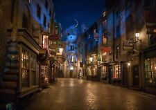 HARRY POTTER MOVIE DIAGON ALLEY A4 260GSM POSTER PRINT