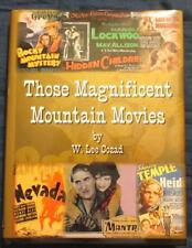 Those Magnificent Mountain Movies, Cozad, San Bernardino Mtns., Signed Ltd Ed.