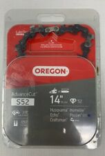 Oregon S52 AdvanceCut 14-Inch Chainsaw Chain Fits Craftsman Echo Homelite Poulan