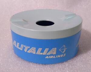 VTG Advertising Ashtray ✱ ALITALIA AIRLINES ✱ Aschenbech Cendrier ITALY 50/60´s