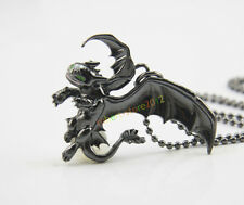 How To Train Your Dragon 2 Toothless Night Fury Necklace Pendant Christmas Gift