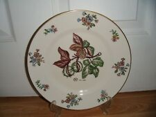 "Royal Copenhagen 1956 Horse Chestnut 9.75"" Plate ~ 1st ~ Excellent ~ Signed"