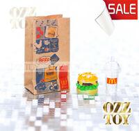 Coles Little Shop 2 | mini McDonald's Fast-food Set  | OZZ TOY | Miniature1:12