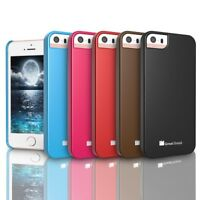 Ultra Thin Glossy Durable Snap-On S Hard Case Cover for Apple iPhone SE 5S 5