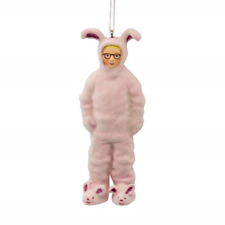 Hallmark Christmas Ornaments, A Christmas Story Ralphie in Bunny Suit Ornament