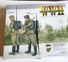 Dragon Wwii Eastern Front 1943 German Signals Team Action Figure Nib 2004