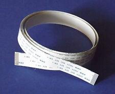 FFC A 12Pin 1.0Pitch 100cm Flachbandkabel Flat Flex Cable Ribbon AWM Flachkabel