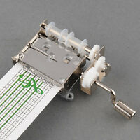 DIY Tune Tape Music Box Movement + Hole Puncher + 20 note paper Strips
