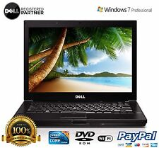 "DELL LAPTOP WINDOWS 7 PRO LATITUDE E6410 CORE i5 4GB 1TB DVDRW 14"" CAMERA WIFI"