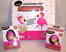 2 HATCHING GROWING FLAMINGO EGG hatch grow bird eggs hatchem novelty item new