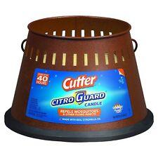 Cutter CitroGuard Candle 20oz Triple Wick Citronella Insect & Mosquito Repellent
