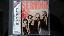 Reservoir Dogs Original Soundtrack - 2002 JAPAN CD - UICY-3555