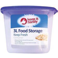 3 L Aliments Boîte de rangement cuisine couvercle Foods riz pâtes récipient Bonbons Cookie Jar