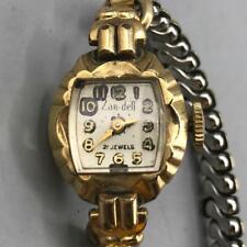 Vintage Zan Dell Winder Ladies 2 Jewel Wristwatch Watch