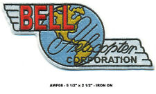 "AIRWOLF BELL HELICOPTER 5.5"" PATCH - AWF08"