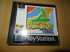 SNOWBOARD RACER PS1 Playstation 1 Pal Comme neuf collectors