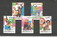 AUSTRALIA 1999 CHILDRENS TV PROGRAMMES SET OF 5 USED SG 1871-5 1359