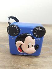 Vintage Radio Shack Walt Disney Company Mickey Mouse Blue AM Transistor Radio