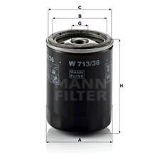 Mann Oil Filter Spin On For Ford Ranger 2.5 TDCi 4x4 3.0 TDCi 3.0 TDCi 4x4