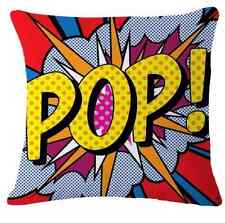 Pillows Case Cushion Cover Pop Animation Art