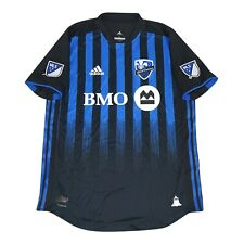 Montreal Impact MLS Adidas Men's Black Climacool Authentic On-Field Jersey