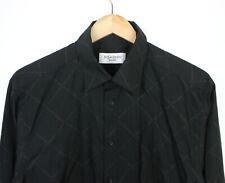 Yves Saint Laurent YSL Vintage 90s Spell Out Black Long Sleeve Shirt - M