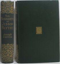 1896 NOVEL OF CASTLETON PEAK DISTRICT DERBYSHIRE THE BANISHMENT OF JESSOP BLYTHE