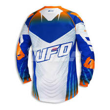 Camiseta UFO Voltage azul / blanco talla S MG04378CWS