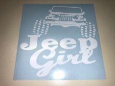 Window Toolbox Stickers #919 Jeep Girl Sticker