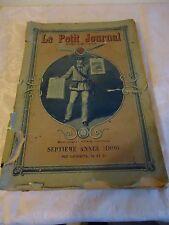 135 Le Petit Journal Supplément illustré 1896 EDITION ORIGINALE complète