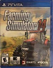 Farming Simulator 14 PlayStation Vita Brand New
