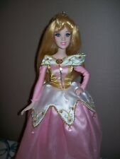 "Disney Sleeping Beauty Princess Aurora Porcelain Doll With Stand 16"""