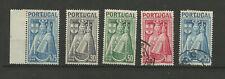 Portugal 1946 proclamation de la vierge 5 timbres /TR2123