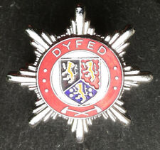 ORIGINAL DYFED Fire Brigade Cap Badge