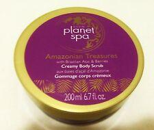 Avon Planet Spa Creamy Body Scrub Acai & Berries 6.7oz New (sealed)