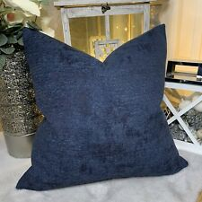 "Modern Cushion Cover 16"" X 16"" John Lewis & Partners Design Project Fabric Navy"