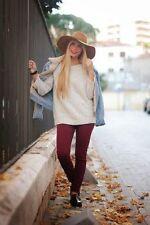 Acrylic Tunic Machine Washable Medium Knit Jumpers & Cardigans for Women