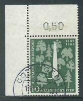 BRD - Michel-Nr. 220 Ecke 1 - zentrisch gestempelt - Vollstempel Göttingen