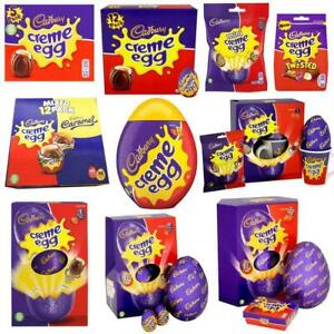 Cadbury Creme Egg Easter Milk Chocolate Gift Pack Eggs