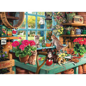 Window Cats 1000 Piece Jigsaw Puzzle, Toys & Games, Brand New