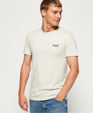 Superdry Mens Organic Cotton Embroidery T-Shirt