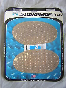 Universal Racer Ovals Clear Stomp Grips, New