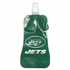 NFL New York Jets Foldable Water Bottle, 16-ounce