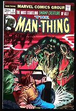 MAN-THING 1974 #4 HIS FIRST VERY OWN TITLE F/VF ORIGIN FOOLKILLER!KEY BOOK!!