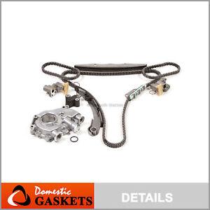 Fit 05-15 Nissan Frontier Pathfinder Xterra 4.0 Timing Chain Oil Pump Kit VQ40DE