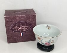 1981 Avon American Heirloom Independence Day Porcelain Bowl w/Stand w/Box
