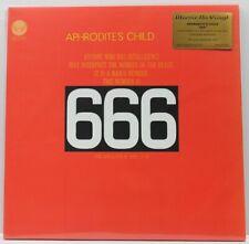 APHRODITES CHILD 666 RED vinyl 2 LP gatefold Record SEALED/BRAND NEW