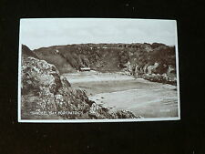 Old Photo Brown Valentine's Postcard: Sandeel Bay, Portpatrick Dumfries Scotland